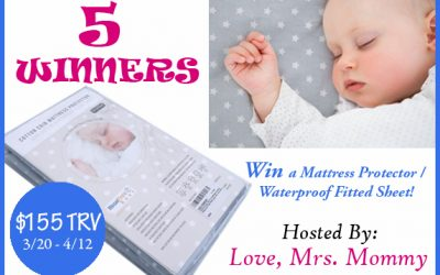 HighFive Easy Mattress Protector Giveaway